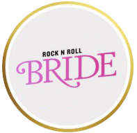 Rock N Roll Bride Logo - My Vintage Flower