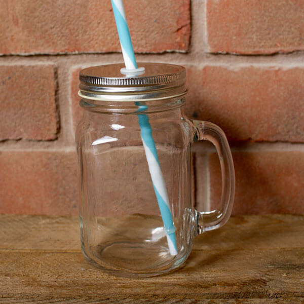 mason jar drinks glass for hire